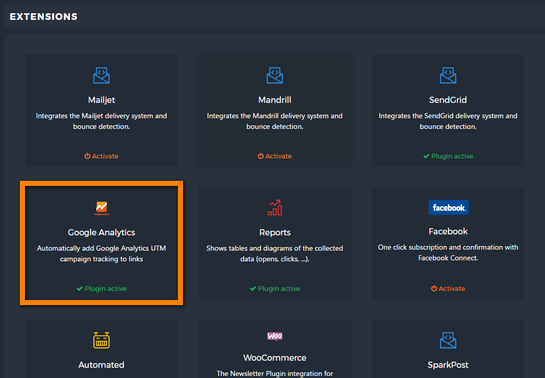 Google Analytics Extension Is Here