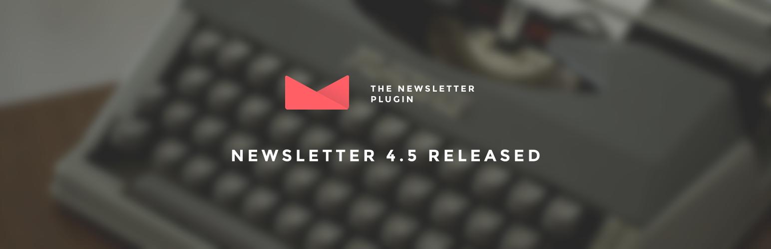 Newsletter 4.5 release